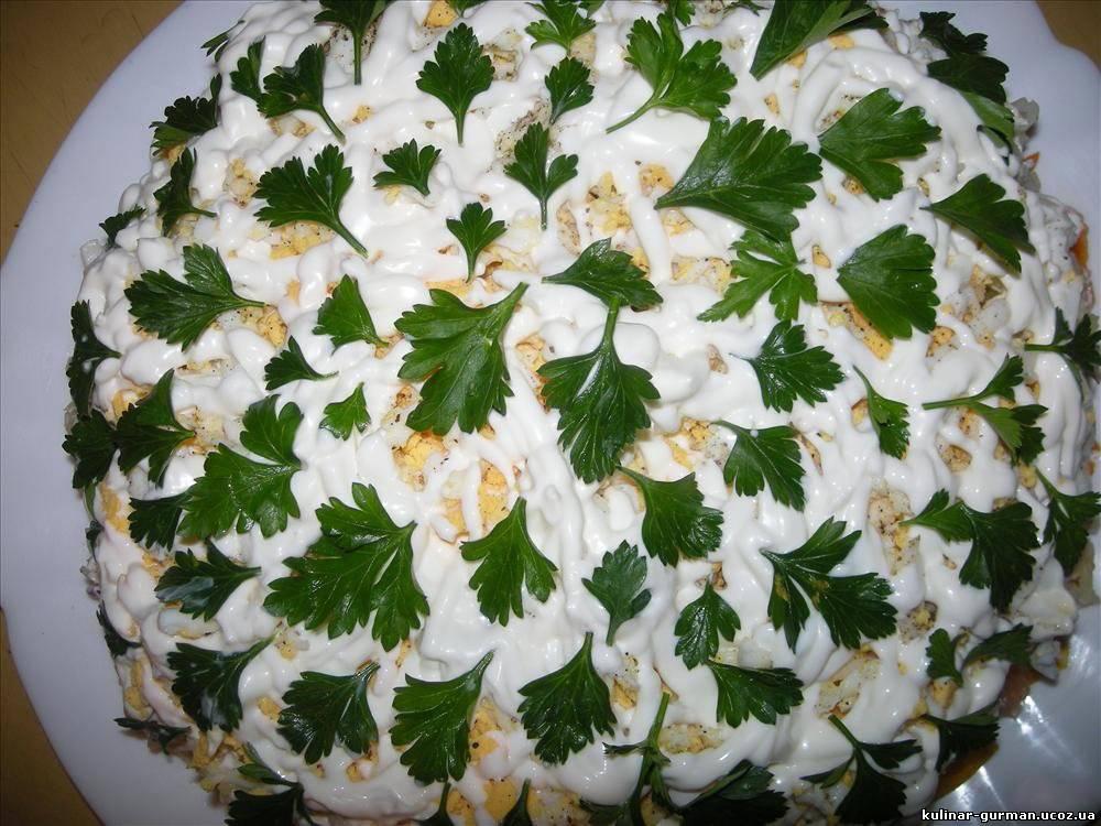 Салаты из овощей рецепты простые и вкусные